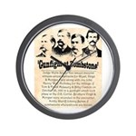 Gunfight at Tombstone Wall Clock