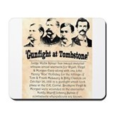 Gunfight at Tombstone Mousepad