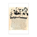Gunfight at Tombstone Mini Poster Print