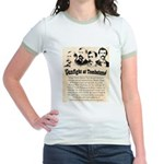 Gunfight at Tombstone Jr. Ringer T-Shirt