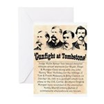 Gunfight at Tombstone Greeting Cards (Pk of 10)