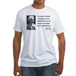 Mark Twain 40 Fitted T-Shirt