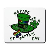 Gay St Patrick's Day Mousepad