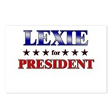 LEXIE for president Postcards (Package of 8)