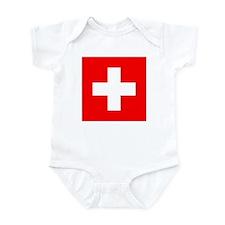 Swiss Flag Infant Bodysuit