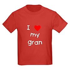 I love my gran T
