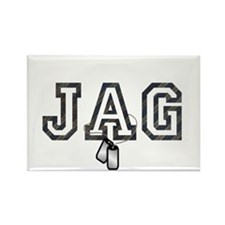 jag Rectangle Magnet