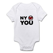NY No Love Infant Bodysuit