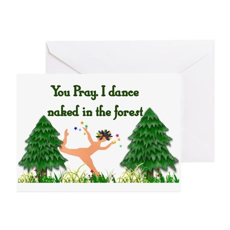 Naked Pagan Greeting Cards (Pk of 20)