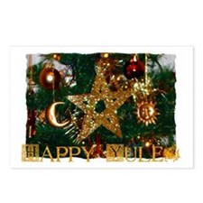Cute Yule Postcards (Package of 8)