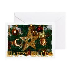 Unique Yule Greeting Card