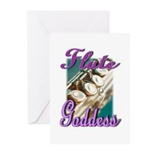 Flute Goddess Greeting Cards (Pk of 20)