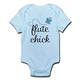 Cute Flute Chick Infant Bodysuit