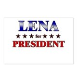 LENA for president Postcards (Package of 8)