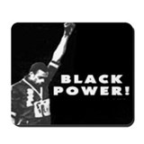 Black Power Mousepad
