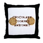 ChocolateCookies? Throw Pillow
