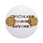 ChocolateCookies? Ornament (Round)