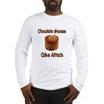Chocolate Mousse Cake Attack Long Sleeve T-Shirt