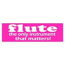 Flute Bumper Bumper Sticker