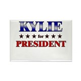KYLIE for president Rectangle Magnet