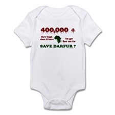 400,000+ (Darfur) 1 Infant Bodysuit