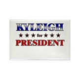 KYLEIGH for president Rectangle Magnet