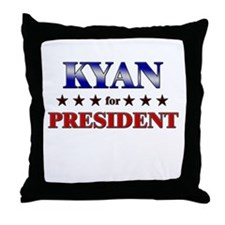 KYAN for president Throw Pillow