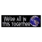 One Planet Bumper Sticker