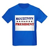 KOURTNEY for president T