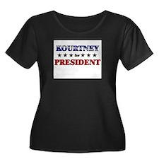 KOURTNEY for president T