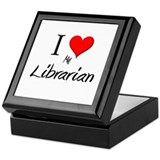 I Love My Librarian Keepsake Box