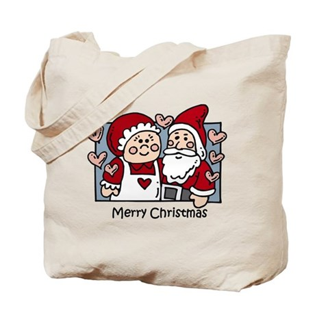Merry Christmas Santa Tote Bag