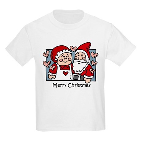 Merry Christmas Santa Kids Light T-Shirt