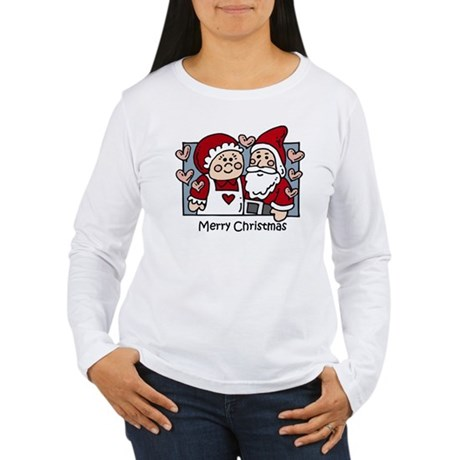 Merry Christmas Santa Women's Long Sleeve T-Shirt