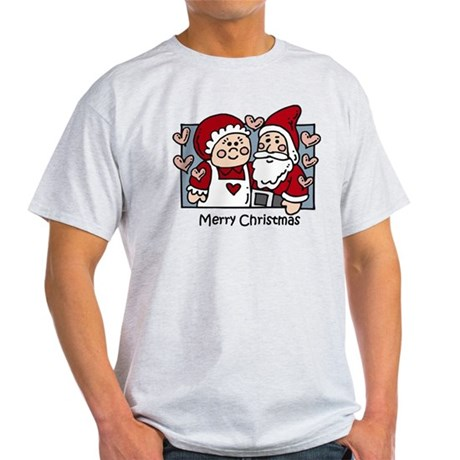 Merry Christmas Santa Light T-Shirt