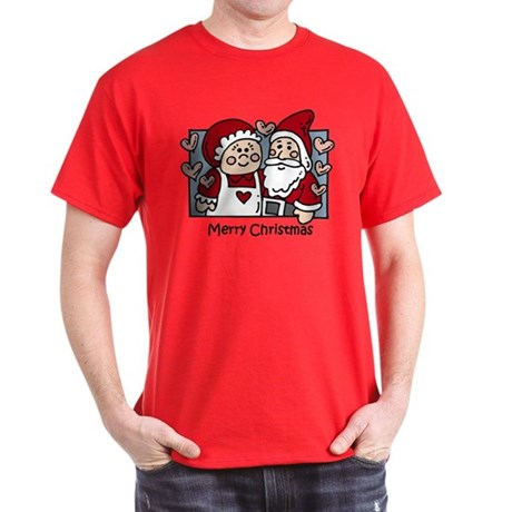 Merry Christmas Santa Dark T-Shirt