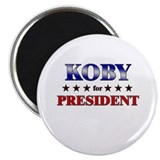 "KOBY for president 2.25"" Magnet (10 pack)"