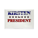 KIRSTEN for president Rectangle Magnet (10 pack)