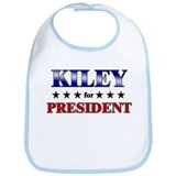KILEY for president Bib