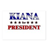 KIANA for president Postcards (Package of 8)