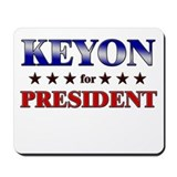 KEYON for president Mousepad