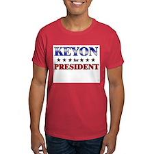 KEYON for president T-Shirt