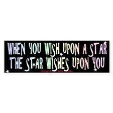 When you wish upon a star - Bumper Bumper Sticker