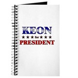 KEON for president Journal