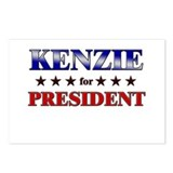 KENZIE for president Postcards (Package of 8)