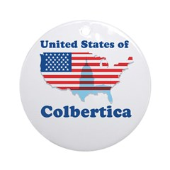 United States of Colbertica Ornament (Round)