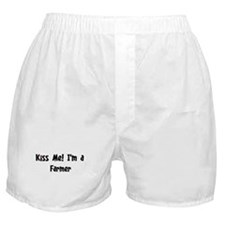 Kiss Me: Farmer Boxer Shorts