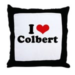 I Love Colbert Throw Pillow