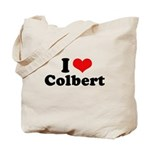 I Love Colbert Tote Bag