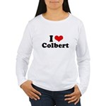 I Love Colbert Women's Long Sleeve T-Shirt